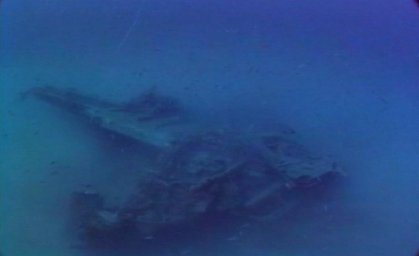 Il relitto dell' Junker 88A