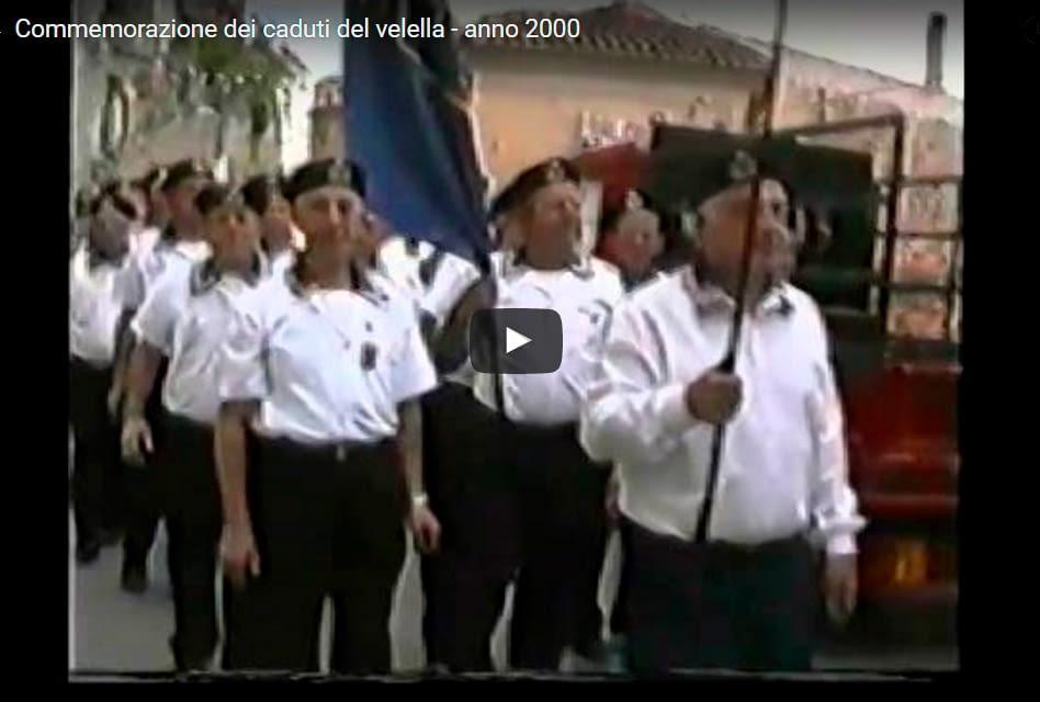 Commemorazione Velella 2000